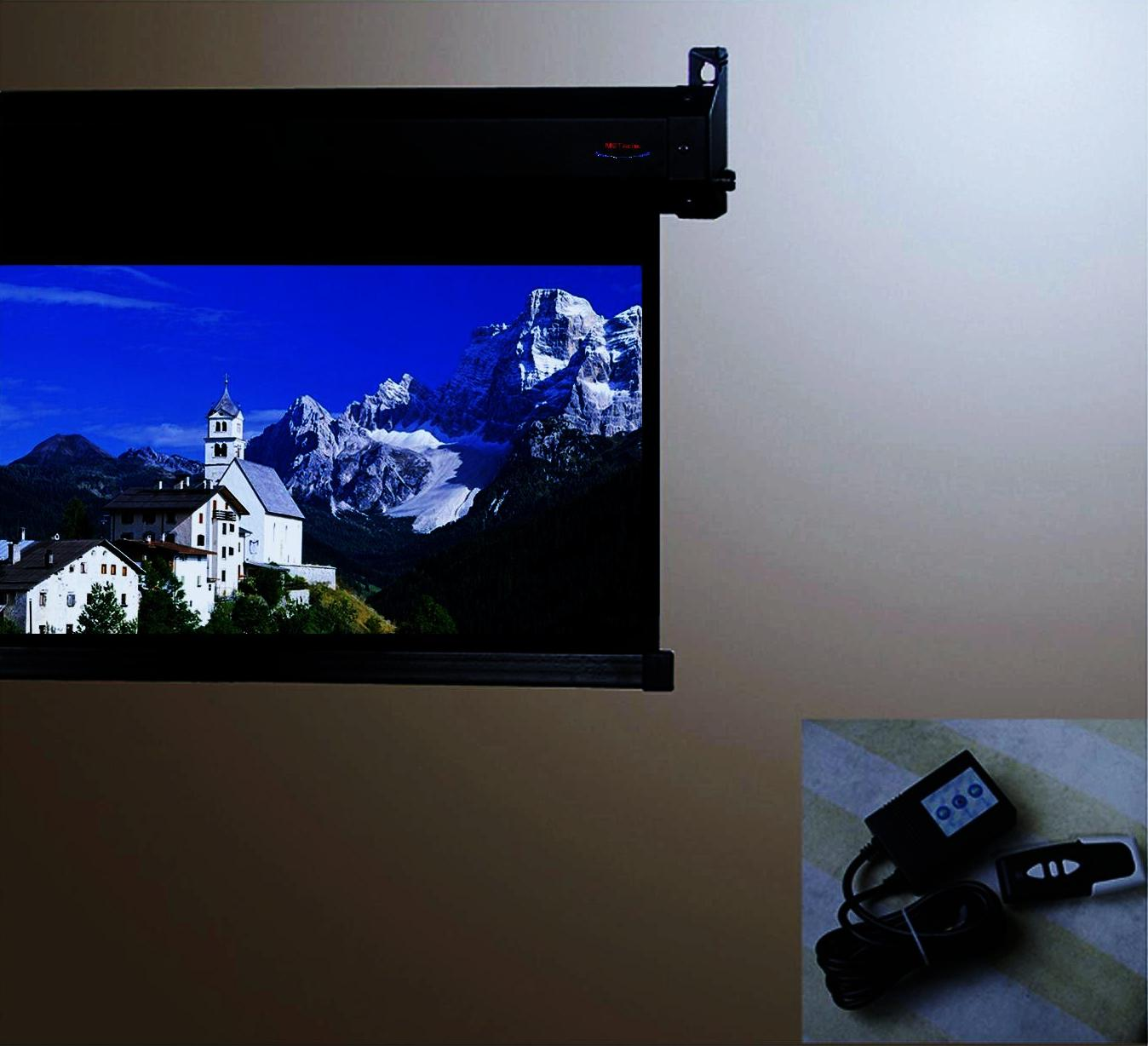 how to make a water projection screen